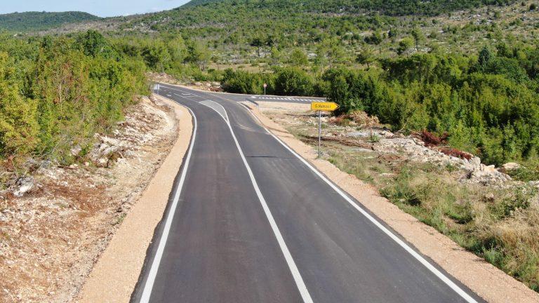 Ministarstvo prometa i veza HNŽ uredilo važno raskrižje na cesti R425