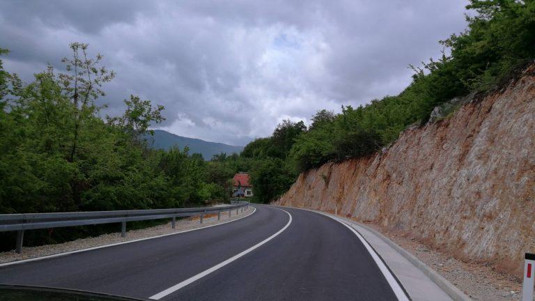 Sanacija ceste na R418 Prozor-Mokronoge